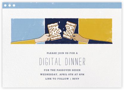 Matzoh Meeting - Fair/Medium - Paperless Post - Passover invitations