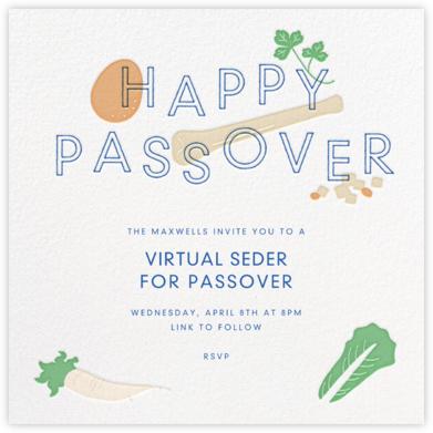 Modern Seder - Paperless Post -