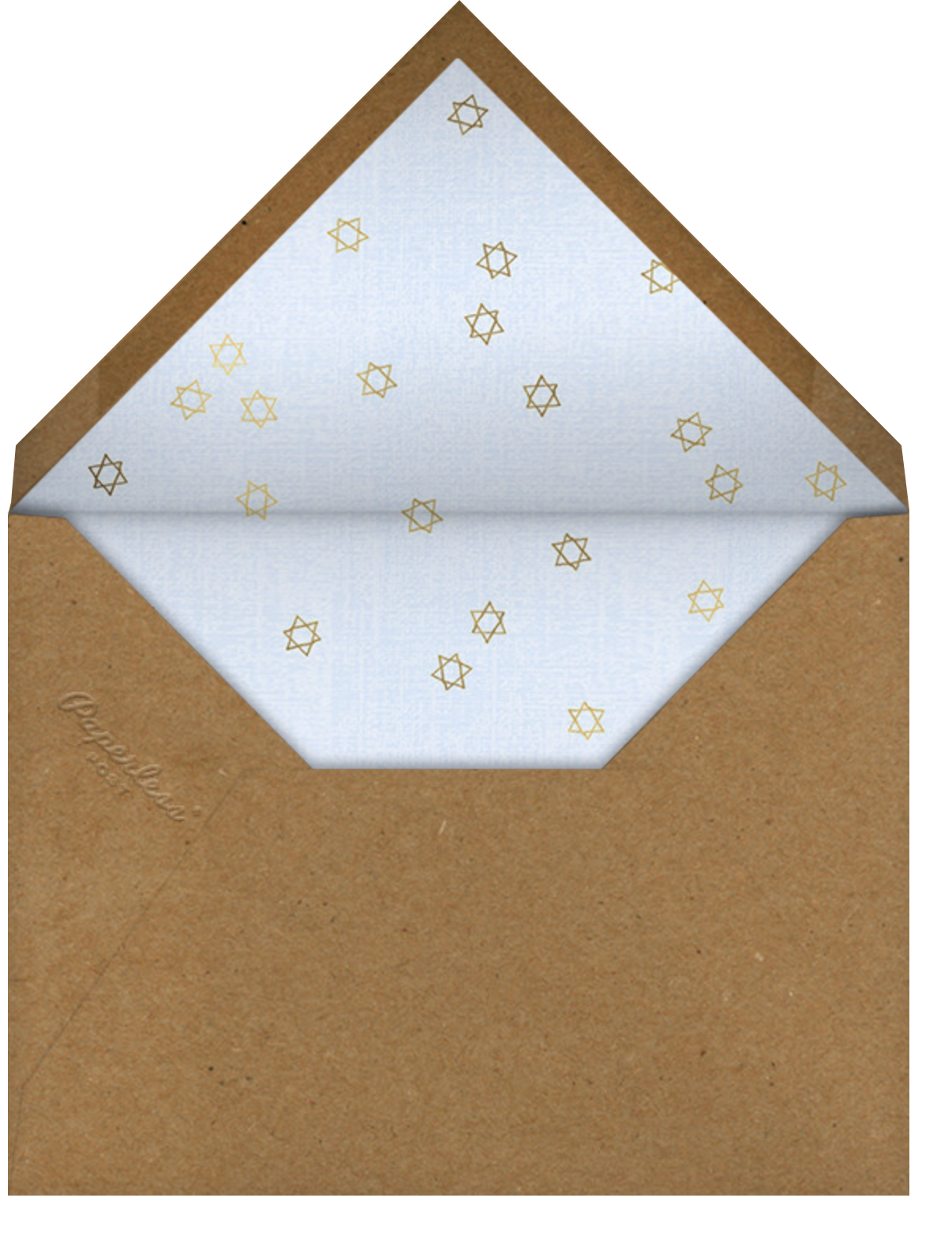 Oh Snap - Paperless Post - Passover - envelope back