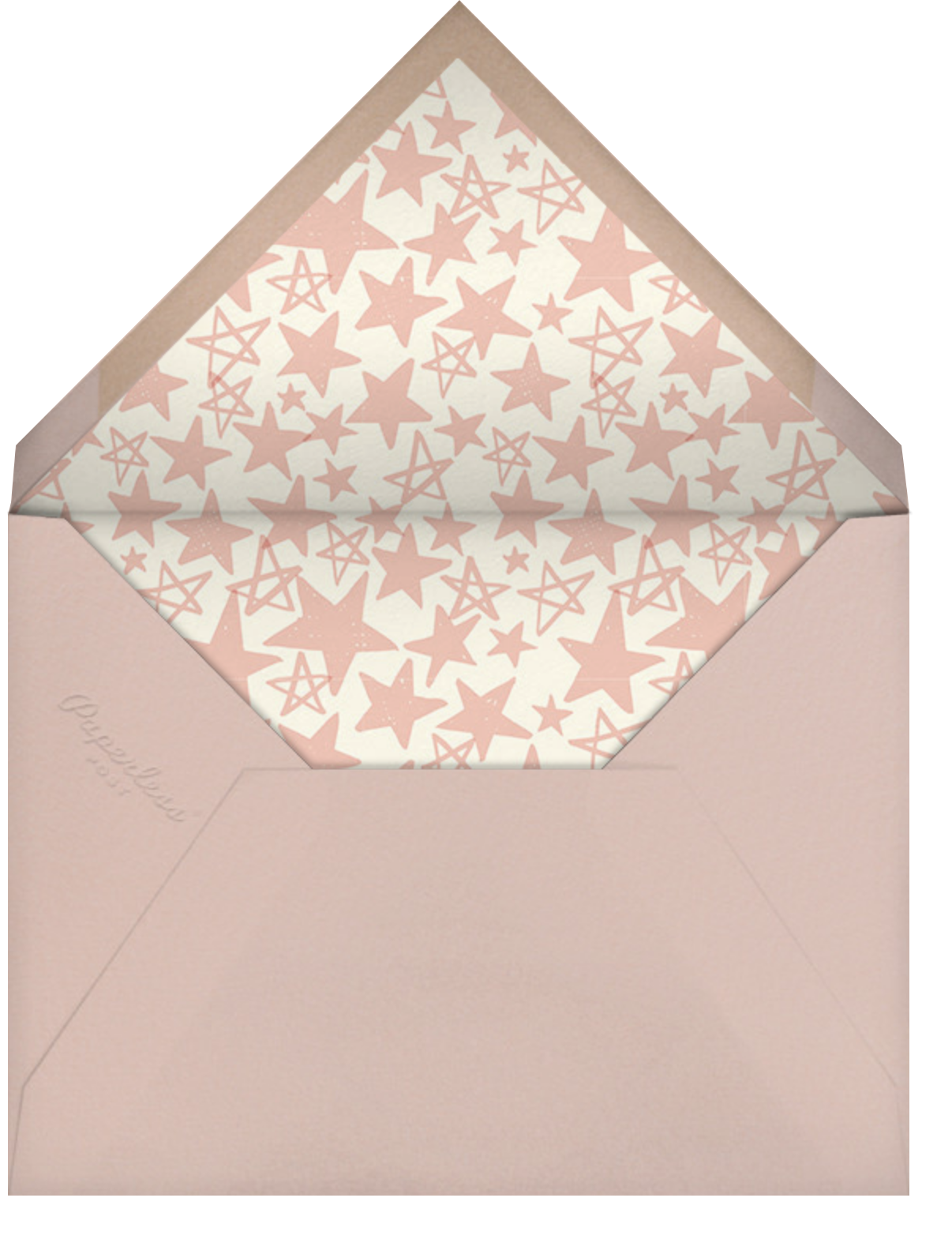 Reach for the Stars - Pink - Hello!Lucky - Graduation cards - envelope back
