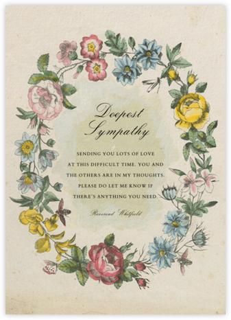 Floral Wreath - John Derian -