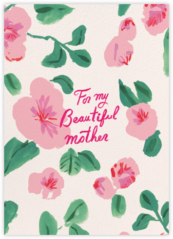 Beautiful Mother (Danielle Kroll) - Red Cap Cards - Mother's Day Cards