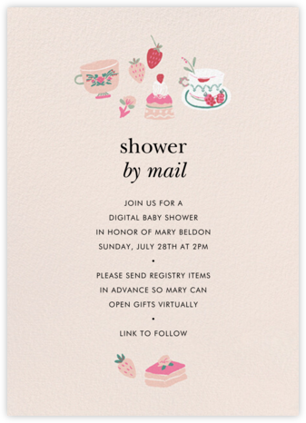 Berry Fun - kate spade new york - Baby Shower Invitations