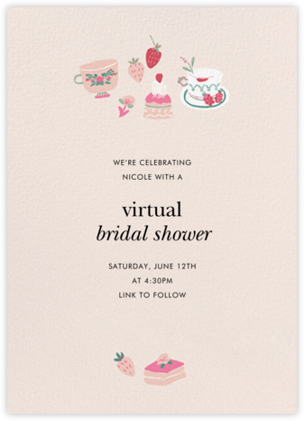 Berry Fun - kate spade new york - Bridal shower invitations