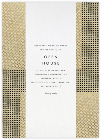 Juxtapose - Kelly Wearstler - Business event invitations
