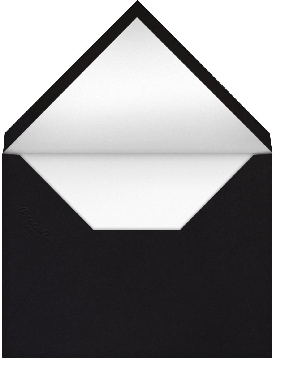 Asymmetric - Black - kate spade new york - Professional events - envelope back