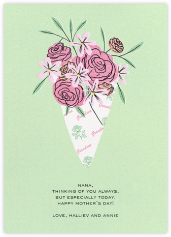 Maternal Bouquet - Grandma - Paperless Post -