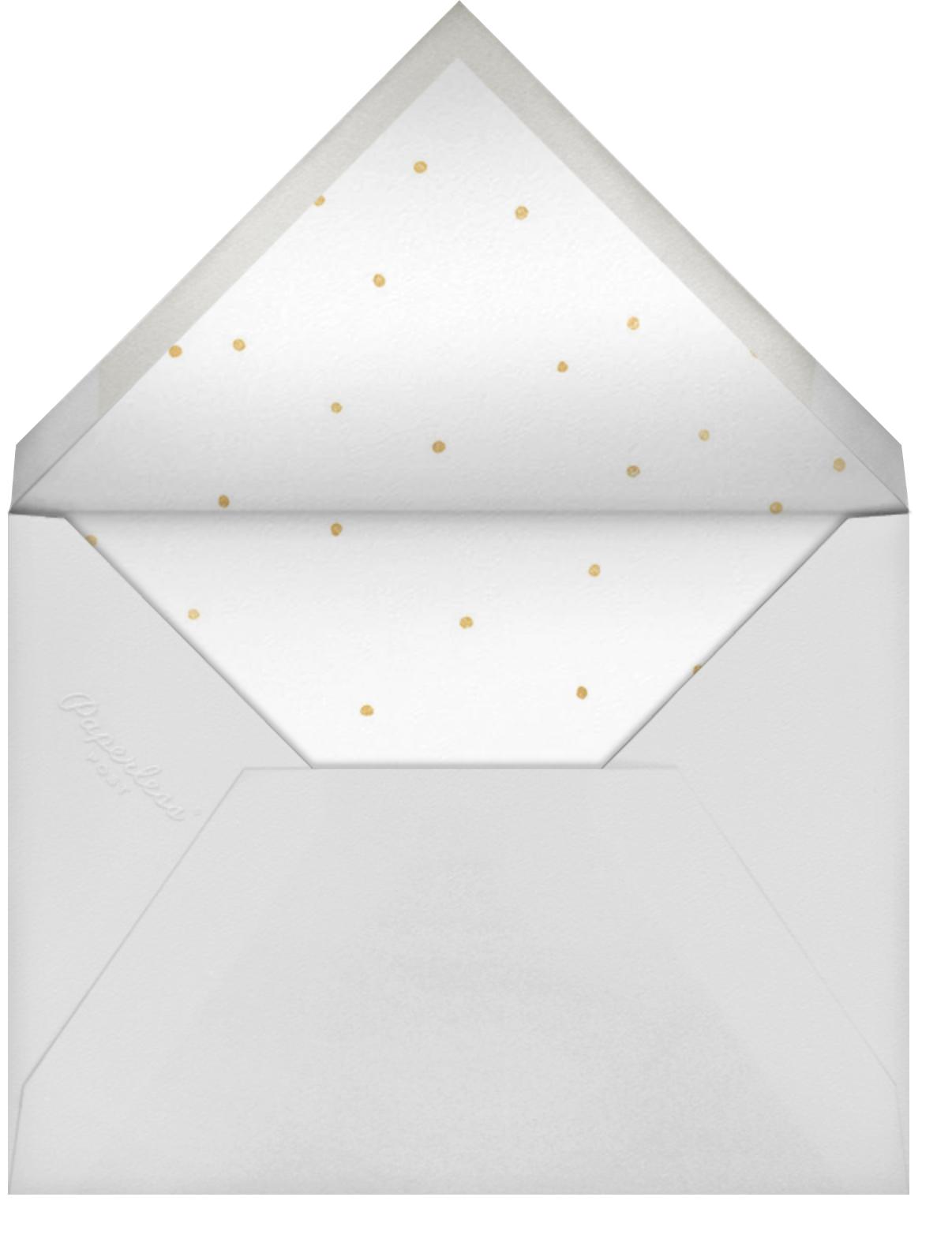 Loving Stars - Sugar Paper - Bat and bar mitzvah - envelope back