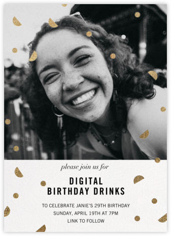 Moondance Photo - Kelly Wearstler - Adult Birthday Invitations