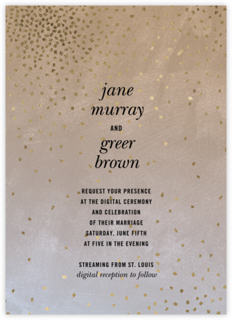 Rave (Invitation) - Kelly Wearstler - Wedding Invitations