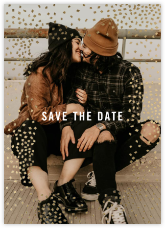 Fetti Photo - Kelly Wearstler - Modern save the dates