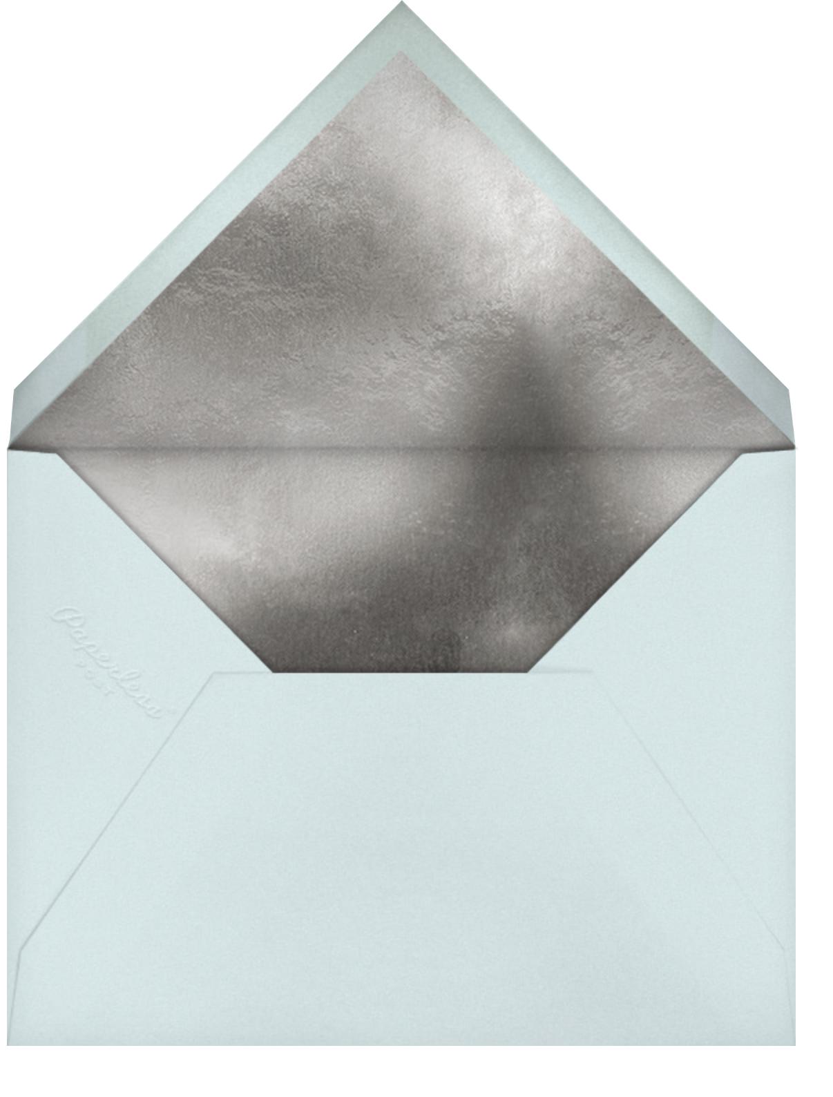 Fetti - Blue - Kelly Wearstler - Hanukkah - envelope back