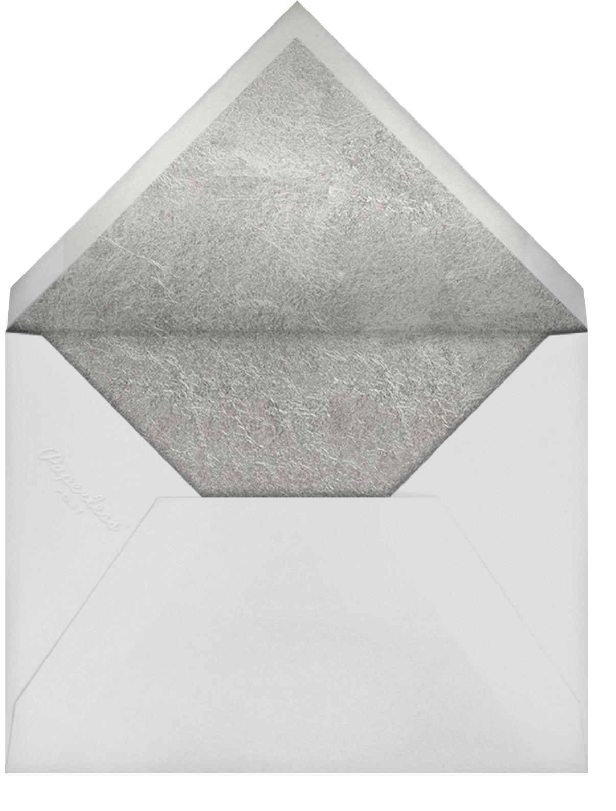 Garde (Invitation) - Silver - Kelly Wearstler - All - envelope back