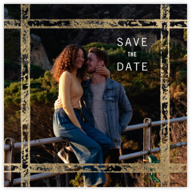 Garde Photo - Kelly Wearstler - Modern save the dates