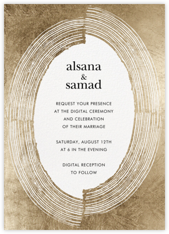 Ilona Frame (Invitation) - Kelly Wearstler - Wedding Invitations