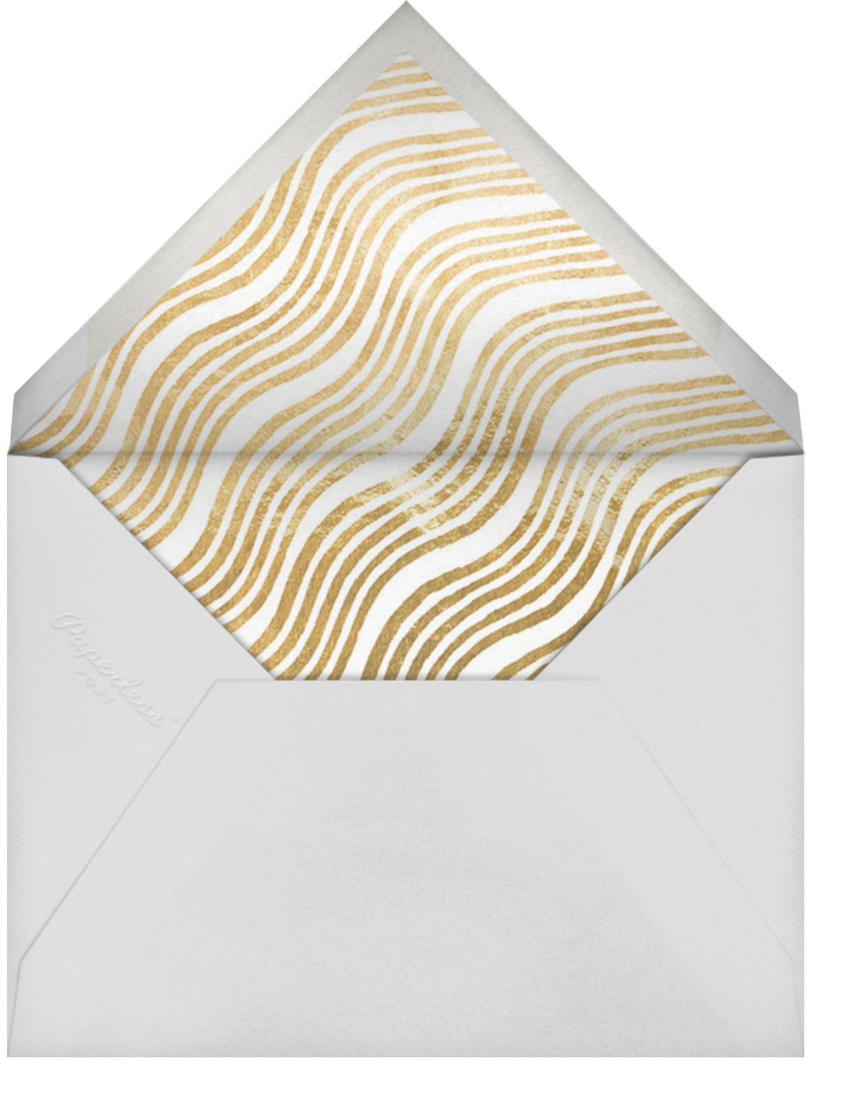 Ilona Stroke (Square) - Blue - Kelly Wearstler - Bat and bar mitzvah - envelope back