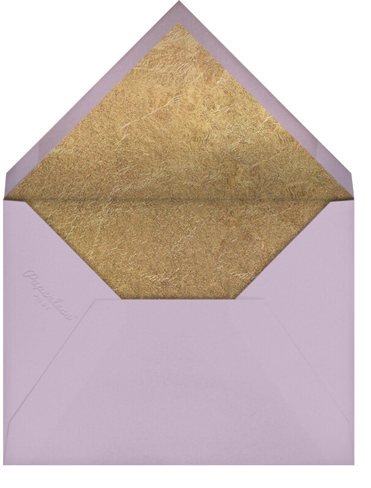Inlay - Mauve - Kelly Wearstler - Adult birthday - envelope back