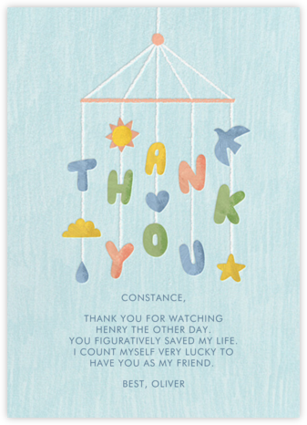 Thankful Mobile - Paperless Post - Online Thank You Cards