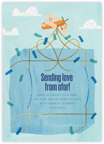 Sending Love - Paperless Post -