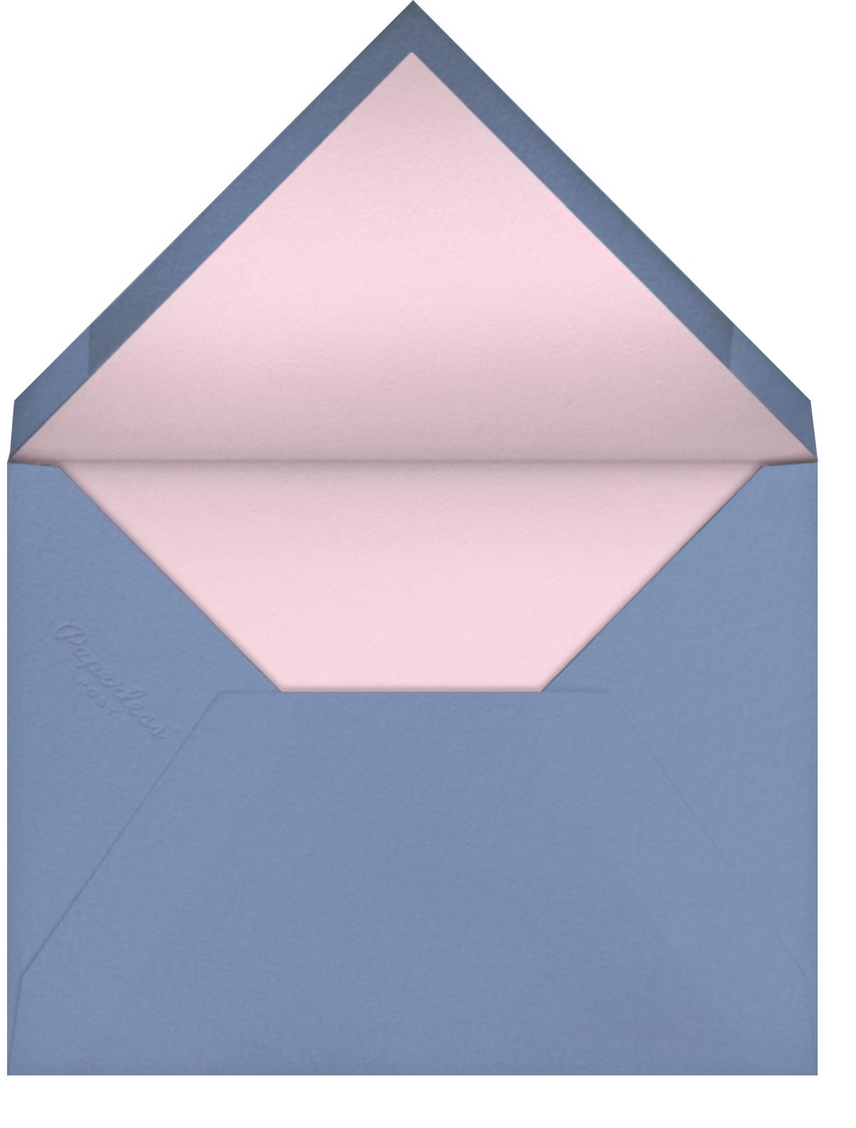 Garden Splendor - Meri Meri - Bridal shower - envelope back