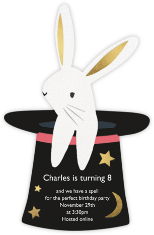 Magic Rabbit - Meri Meri - Virtual Parties