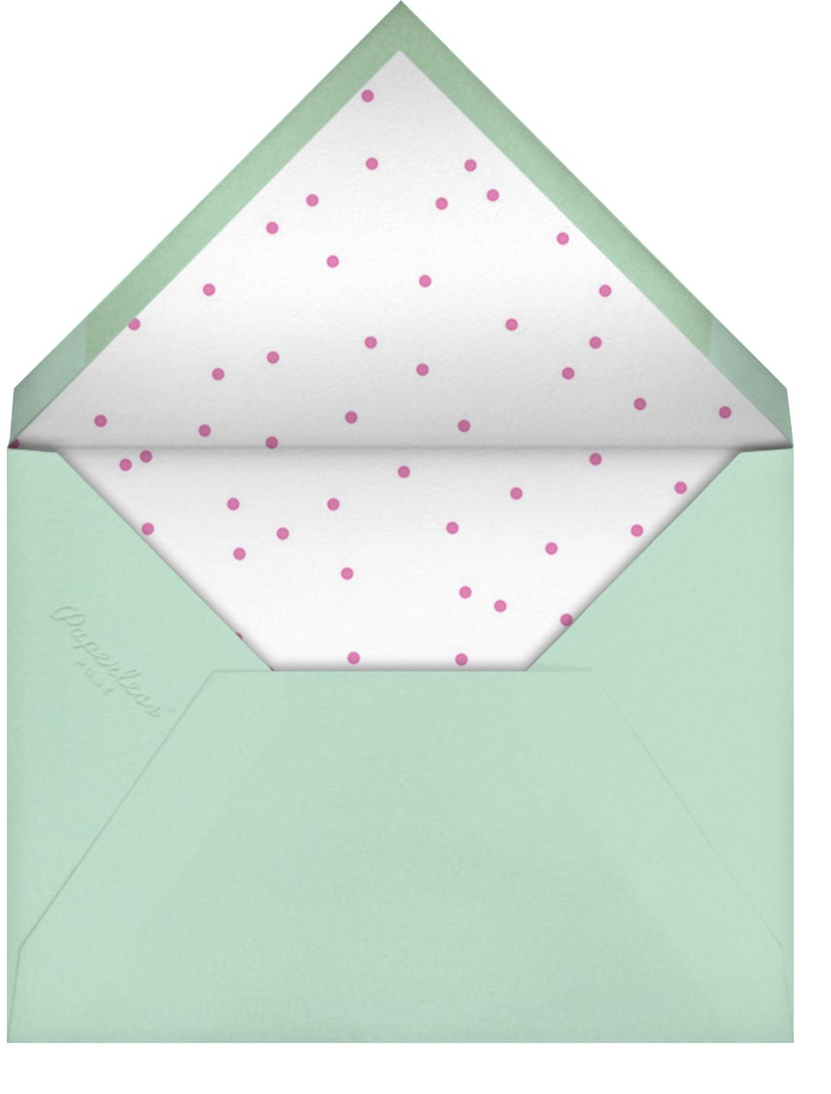 Sunny Party - Meri Meri - Kids' birthday - envelope back