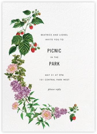 Raspberry Blossom - Stephanie Fishwick - Online Party Invitations