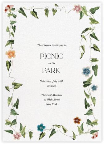 Ivy Tangle - Stephanie Fishwick - Spring Party Invitations