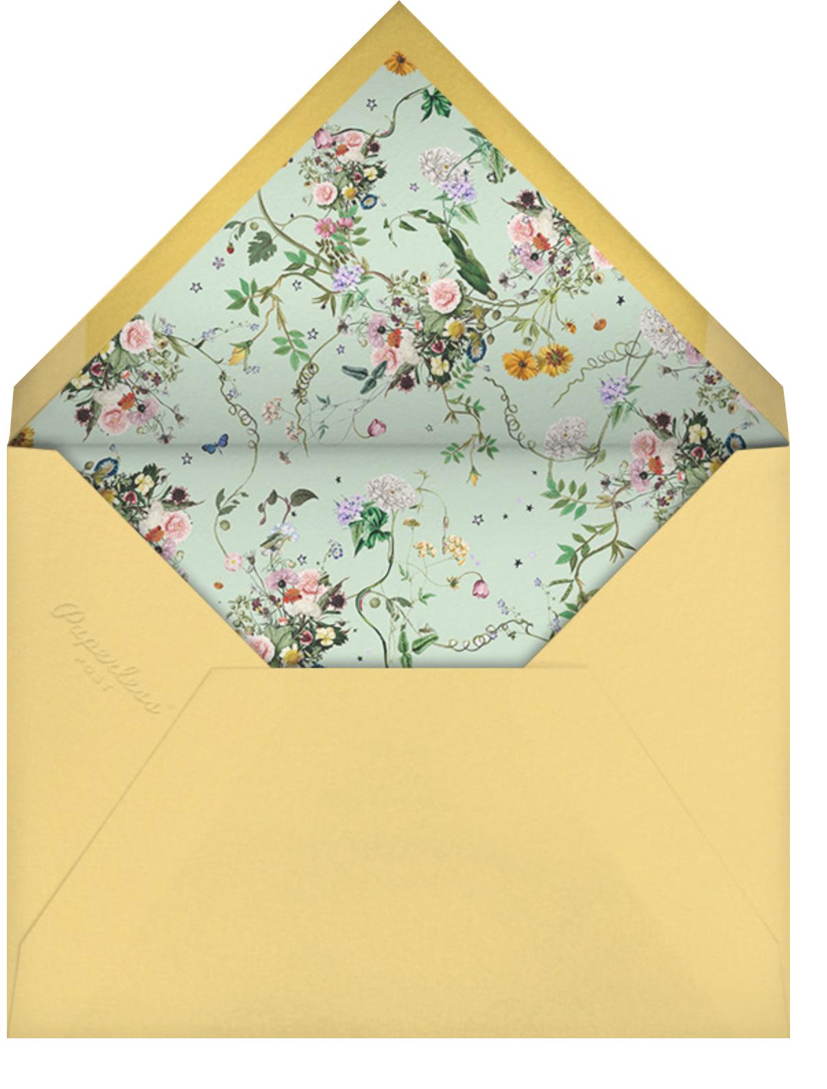 Celestial Flowers - Stephanie Fishwick - Bachelorette party - envelope back