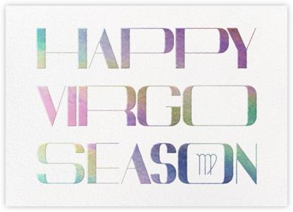 Your Season - Virgo - Paperless Post -