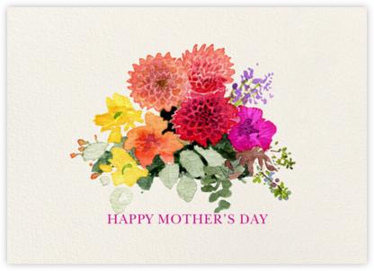 Dahlia Bouquet - Felix Doolittle - Mother's Day Cards