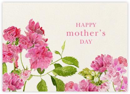 Pink Peonies - Felix Doolittle - Mother's Day Cards
