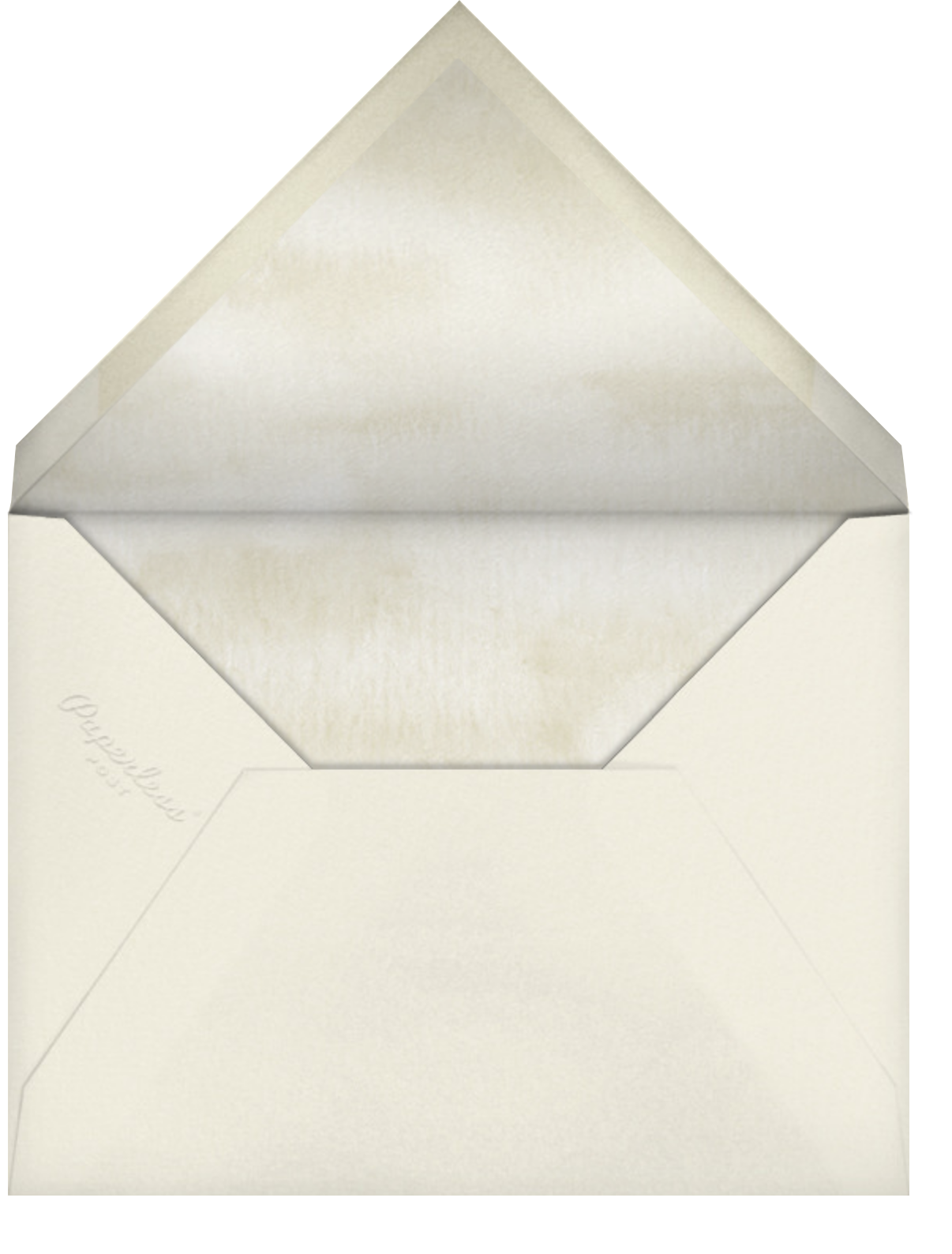 Convallaria Majalis - Felix Doolittle - Sympathy - envelope back