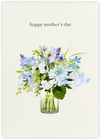 Shades of Blue - Felix Doolittle - Mother's Day Cards