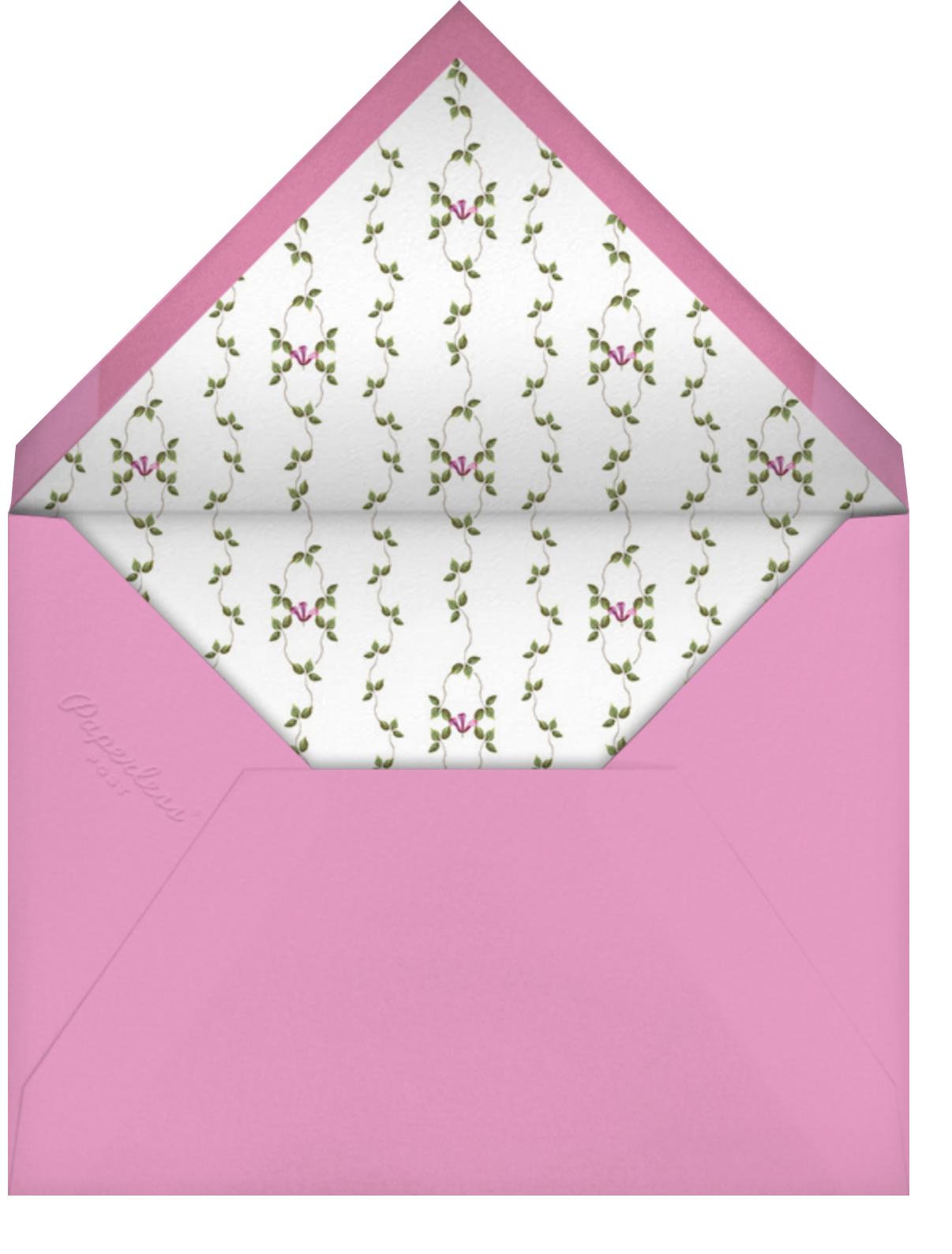 Creeping Magnolia - Pink - Stephanie Fishwick - Mother's Day - envelope back