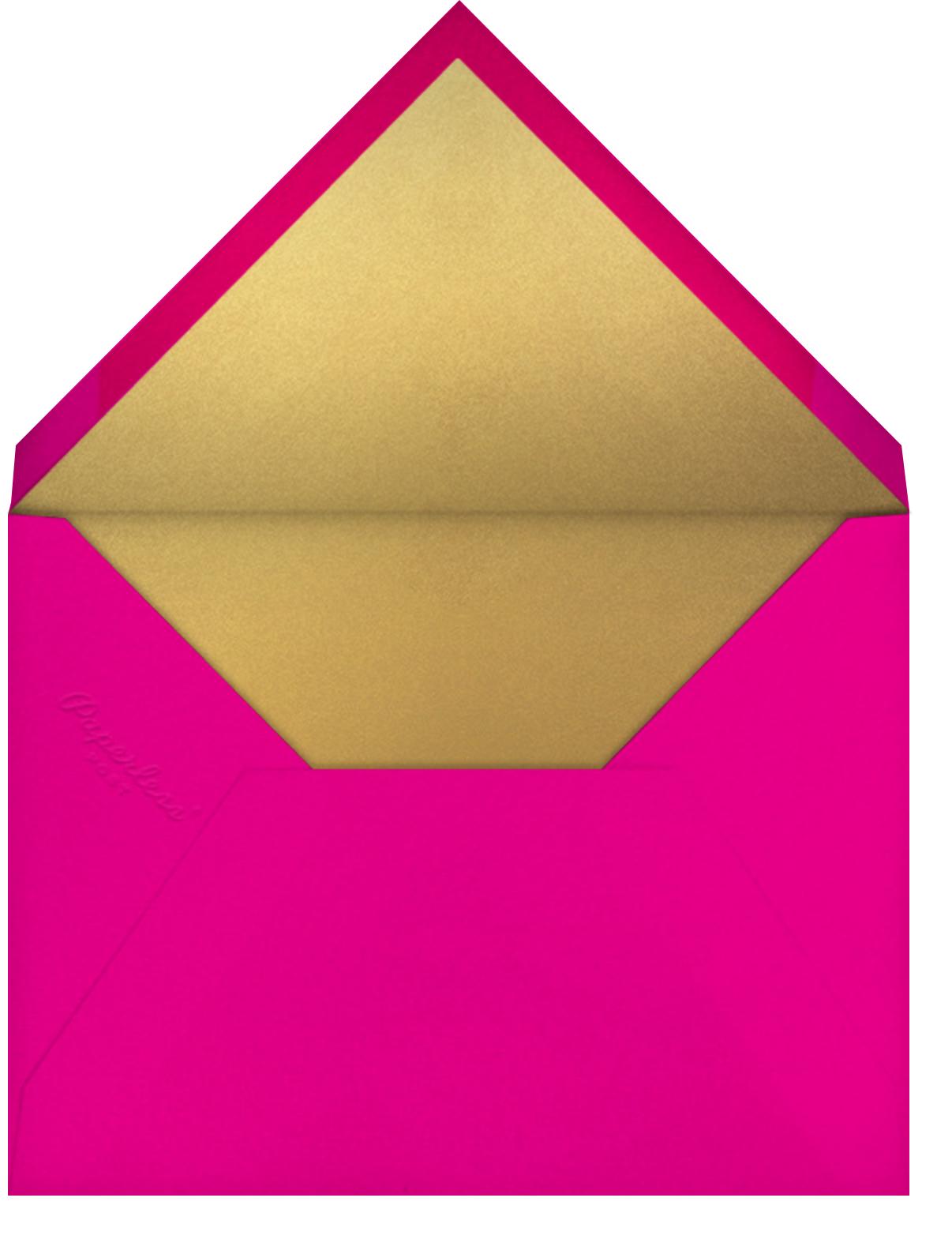Lantern Tassels - Multi - Paperless Post - Ramadan - envelope back