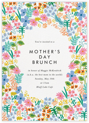 Spring Meadow - Rifle Paper Co. - Online Mother's Day invitations