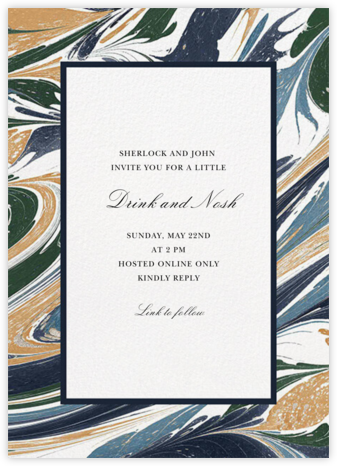 Marbled - Oscar de la Renta - Virtual Parties