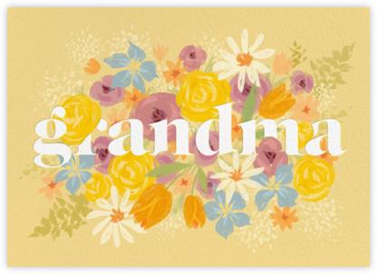Grandma in Bloom - Paperless Post -