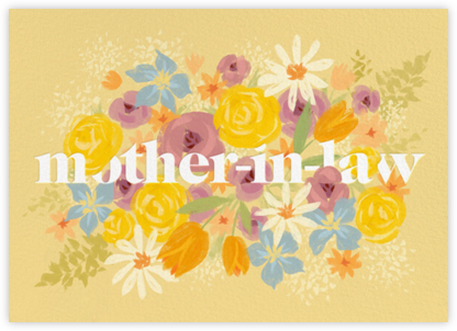 Mother-in-law in Bloom - Paperless Post