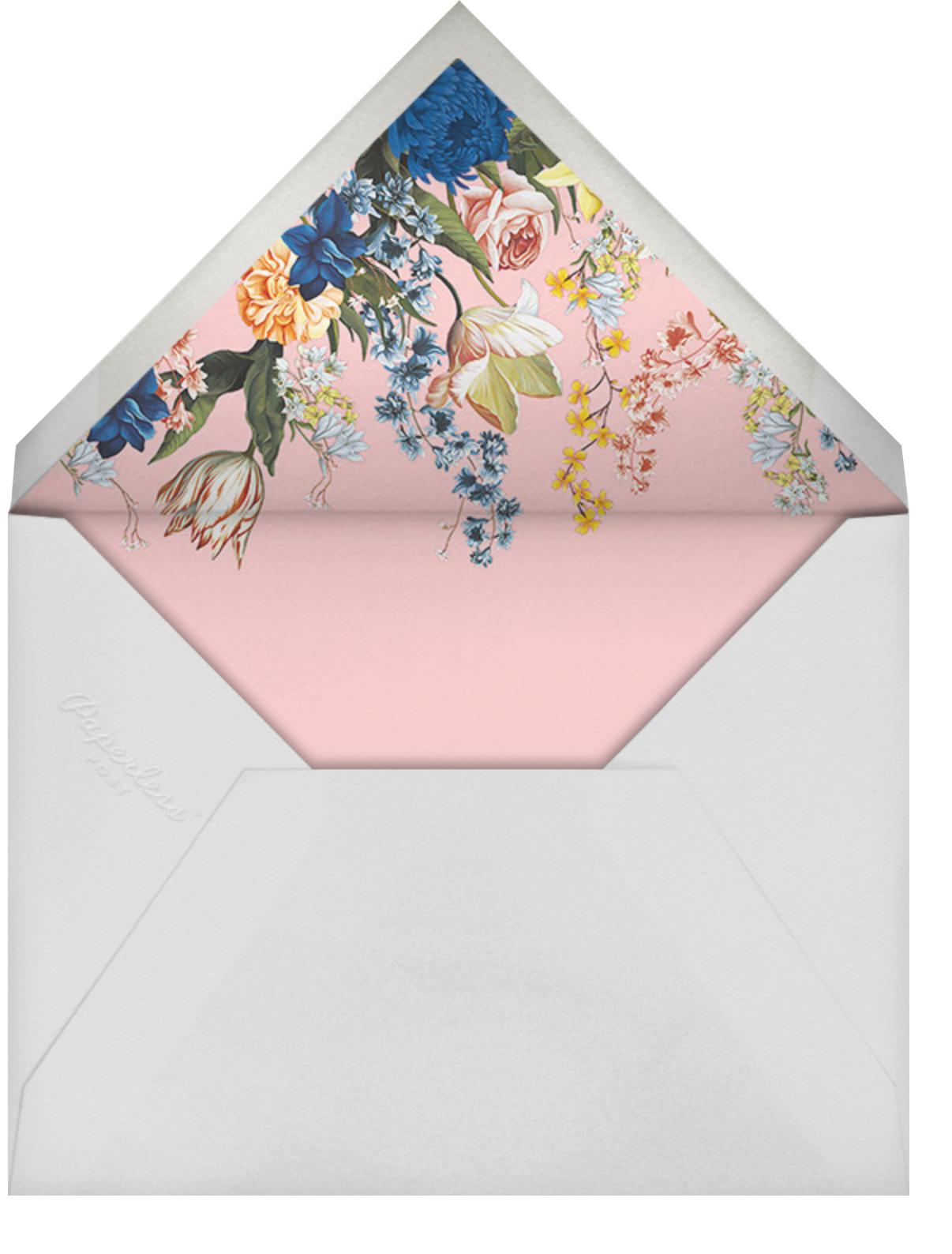 Adorned Aisle - Pavlova - Oscar de la Renta - Mother's Day - envelope back
