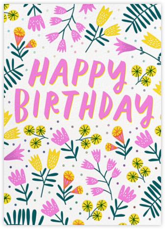 Birthday Garden - Hello!Lucky