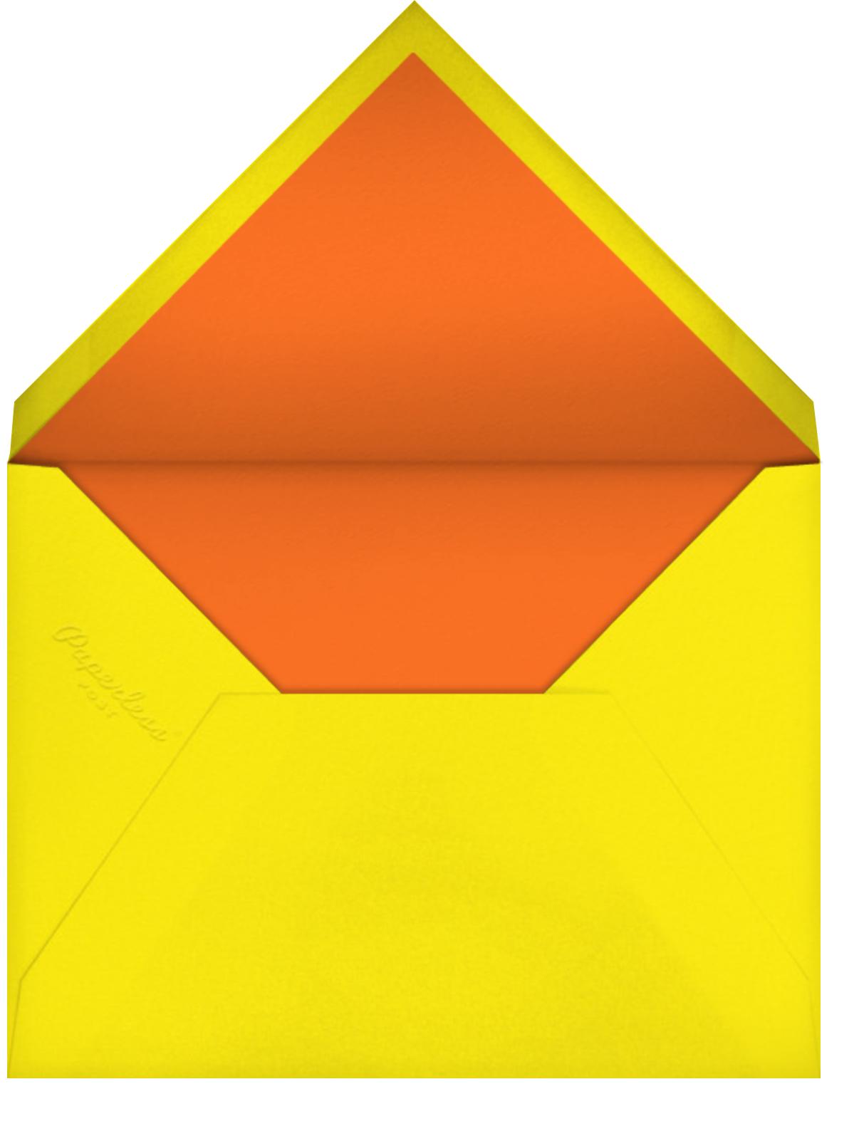 Birthday Garden - Hello!Lucky - Birthday - envelope back