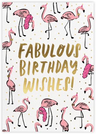 Fab Flamingos - Hello!Lucky -