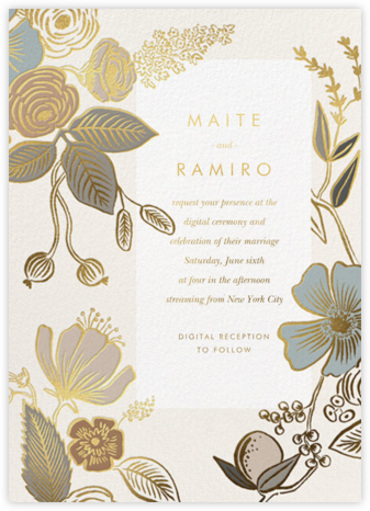 Colette (Invitation) - Rifle Paper Co. - Virtual Wedding Invitations