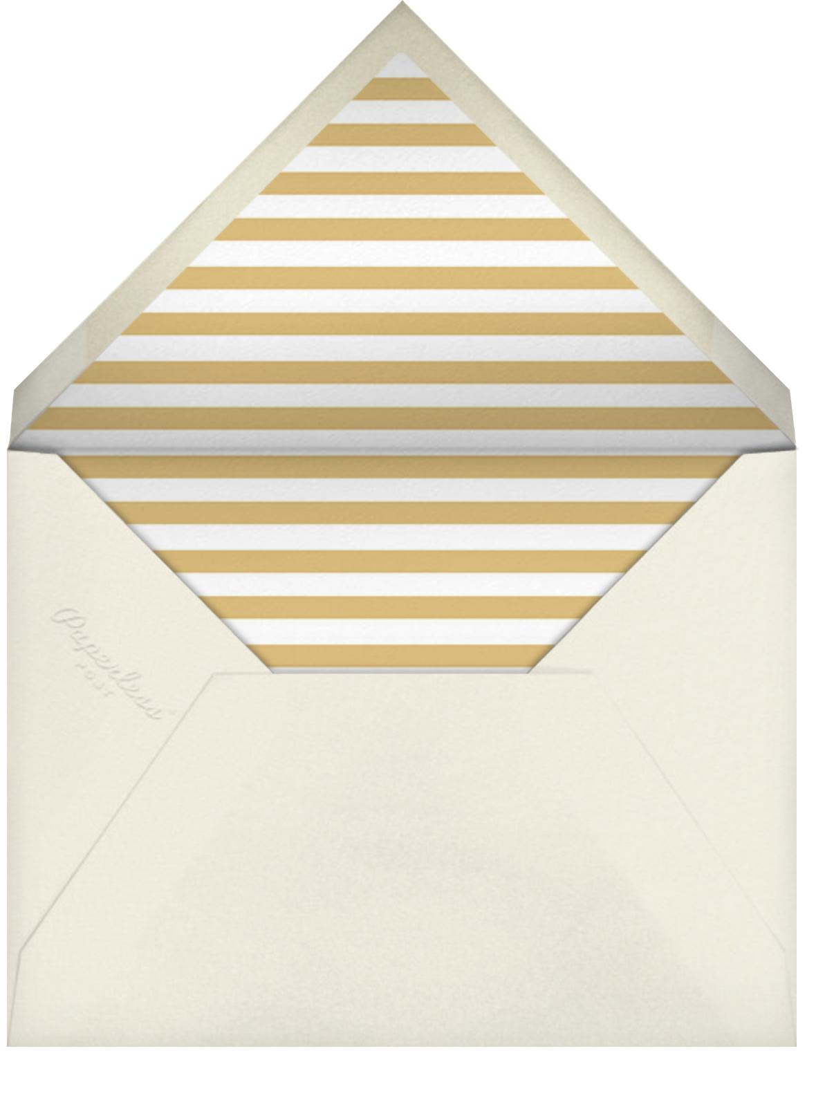 Cream (Square) - Paperless Post - Graduation party - envelope back