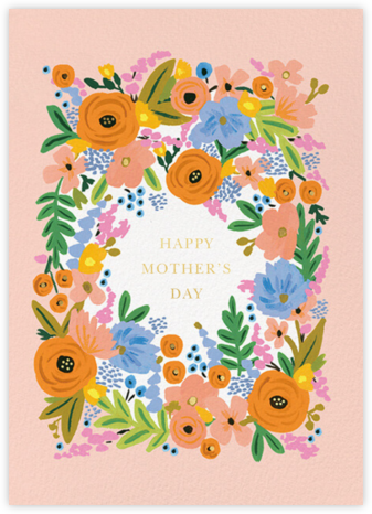 Floral Border Mother's Day - Rifle Paper Co. -