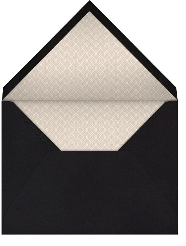 Black (Tall) - Paperless Post - Mardi Gras - envelope back