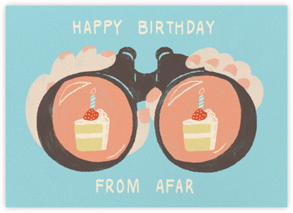 Binocular Birthday - Fair - Paperless Post - Birthday Cards