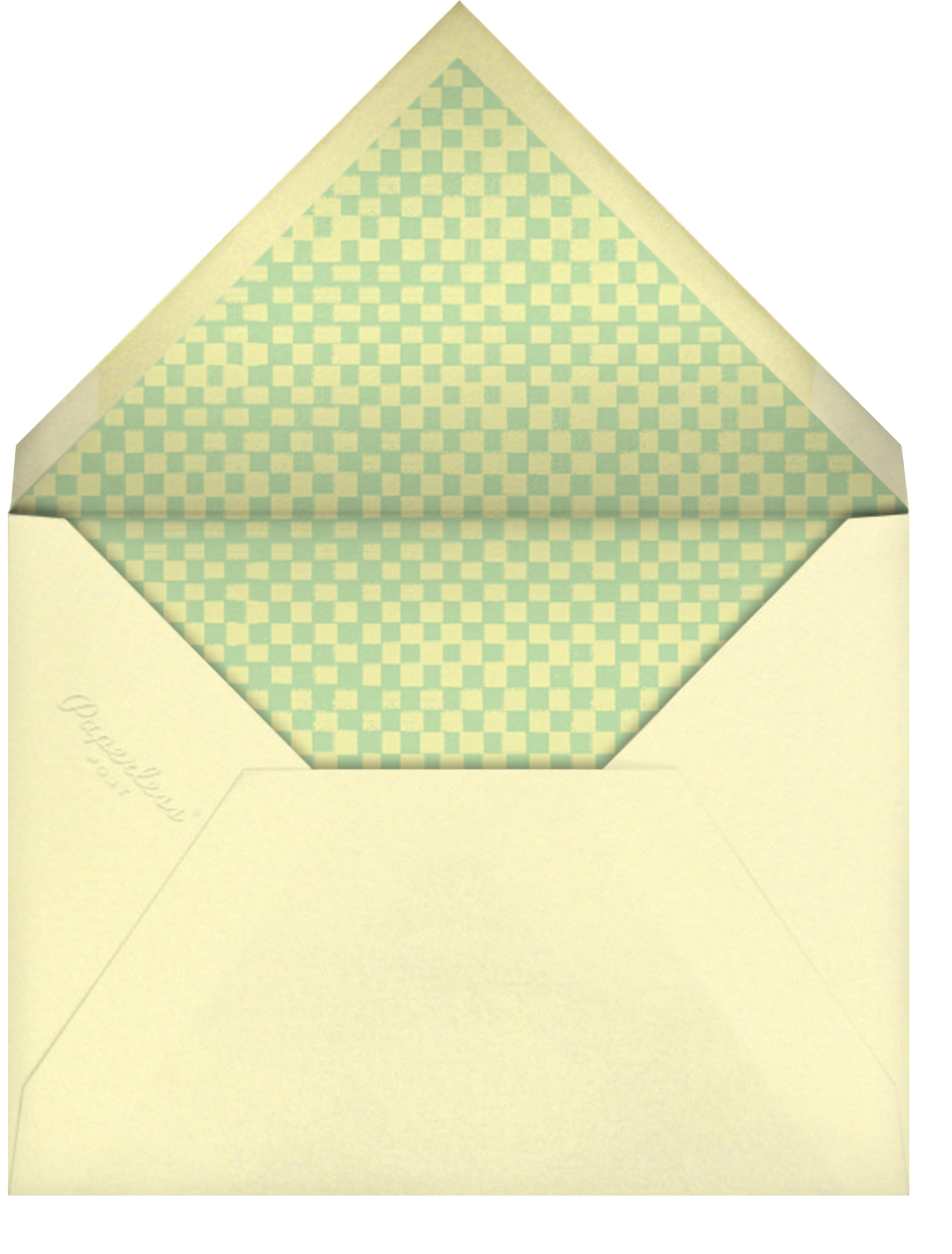 Handful of Sunshine - Tan - Paperless Post - Thinking of you - envelope back